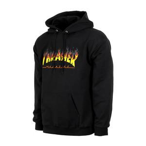 Thrasher BBQ Logo Hoodie - Black