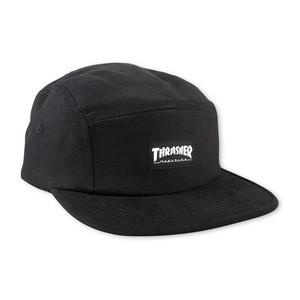 Thrasher 5-Panel Cap - Black