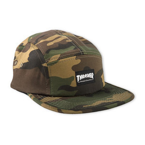 Thrasher 5-Panel Cap - Camo