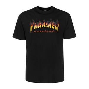 Thrasher BBQ Flame T-Shirt - Black