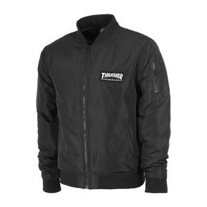 Thrasher Bomber Jacket - Black