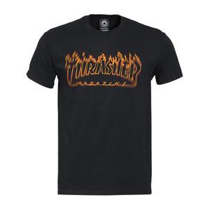 Thrasher Richter Logo T-Shirt - Black