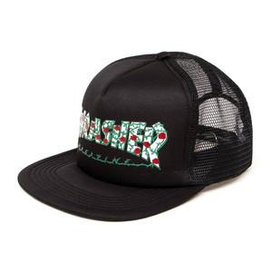 Thrasher Roses Mesh Cap - Black