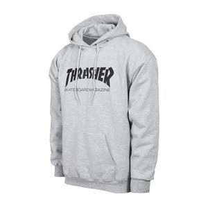 Thrasher Skate Mag Hoodie - Grey