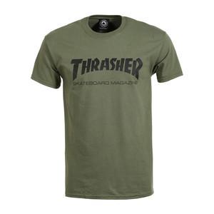 Thrasher Skate Mag T-Shirt - Army Green