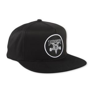 Thrasher Skategoat Snapback - Black