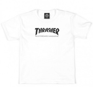 Thrasher Skate Mag Youth T-Shirt – White