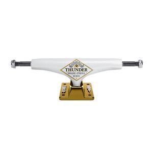 Thunder O'Neill Hollow Lights Hi 149 Skateboard Trucks - White