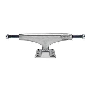 Thunder Titanium Polished Hi 147 Skateboard Trucks