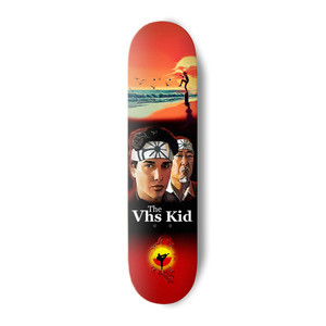 "VHS Nostalgic Karate Kid 8.25"" Skateboard Deck"