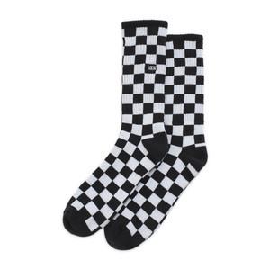 Vans Checkerboard Crew Sock - Black/White