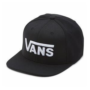 Vans Drop V Snapback Hat - Black/White
