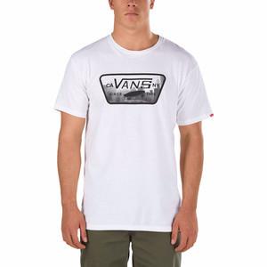 Vans Full Patch Fill T-Shirt - White