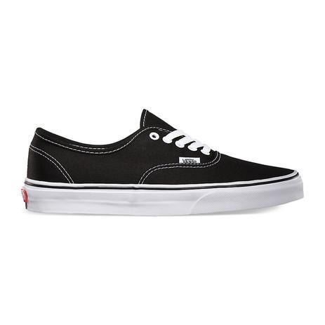 Vans Authentic Skate Shoe - Black