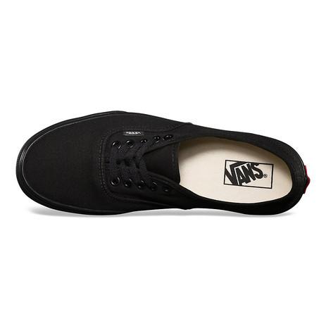 Vans Authentic Skate Shoe - Black/Black