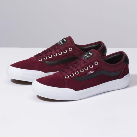 Vans Chima Ferguson Pro 2 Mesh Skate Shoe - Port Royale/Black