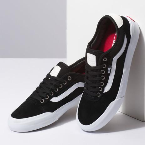 Vans Chima Ferguson Pro 2 Skate Shoe - Black / White
