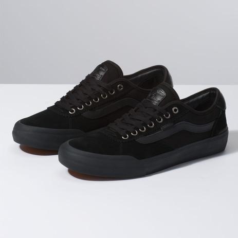 Vans Chima Ferguson Pro 2 Skate Shoe - Blackout Suede
