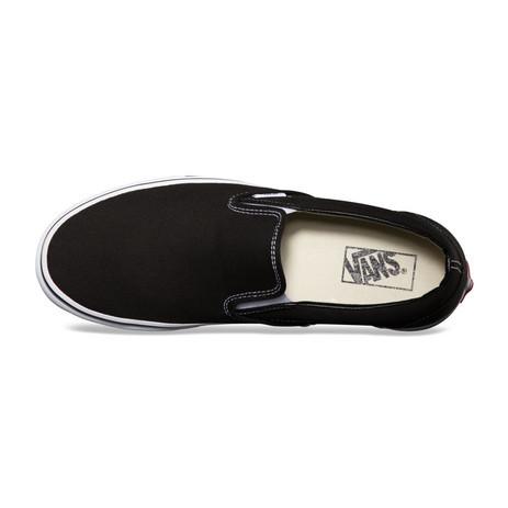 Vans Classic Slip-On Skate Shoe - Black / White