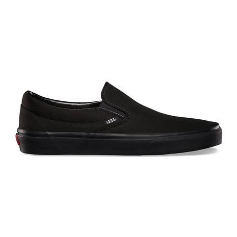 Vans Classic Slip-On Skate Shoe - Black/Black