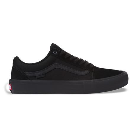 Vans Old Skool Pro Skate Shoe - Blackout