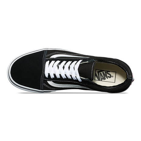 Vans Old Skool Skate Shoe - Black/White