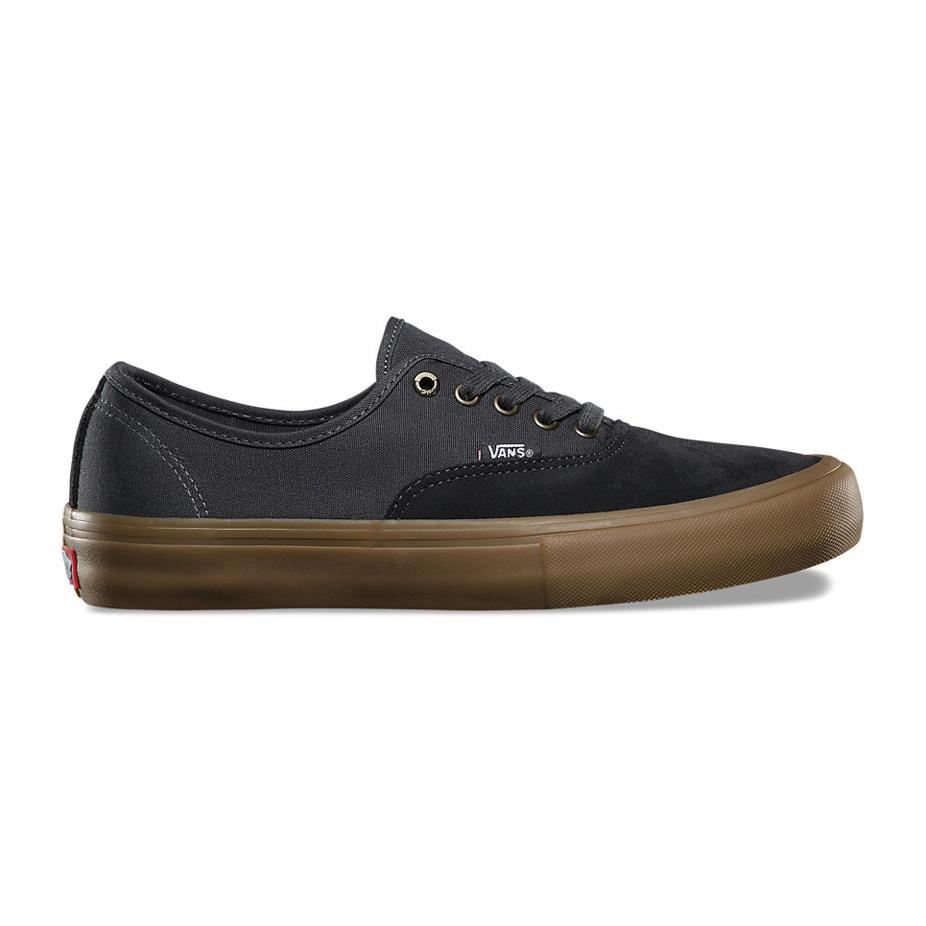 Vans Authentic Pro Skate Shoe - Asphalt Gum  303ee4041