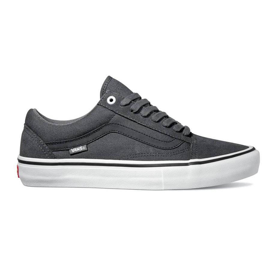 059af3bdd88 Vans Old Skool Pro Skate Shoe - Forged Iron