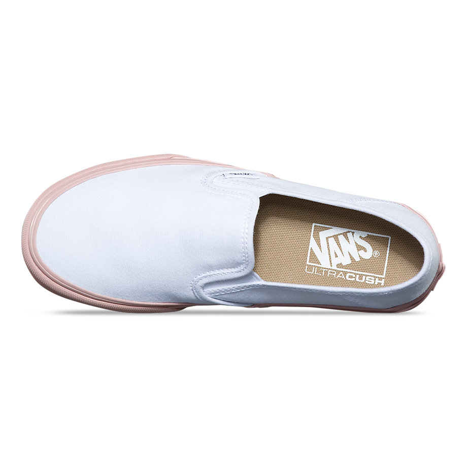 97f65e603e Vans SF Slip-On Women s Shoe - Evening Sand White