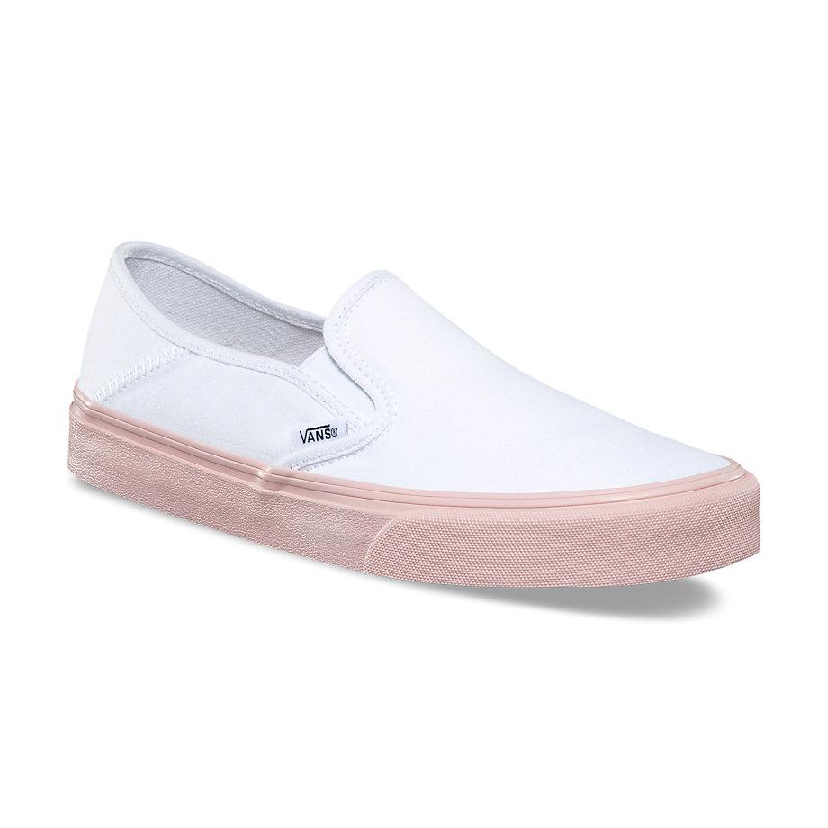 133403fbd9ae Vans SF Slip-On Women s Shoe - Evening Sand White