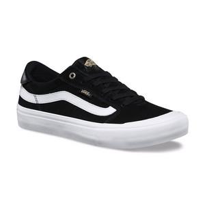 Vans Style 112 Pro Skate Shoe - Black/Black/White