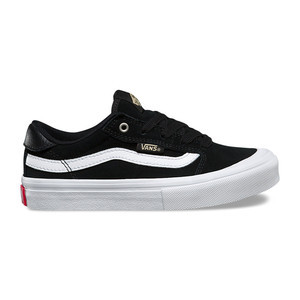 Vans Style 112 Pro Youth Skate Shoe - Black/White