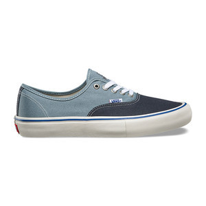 Vans Authentic Pro Skate Shoe - Elijah Berle Navy