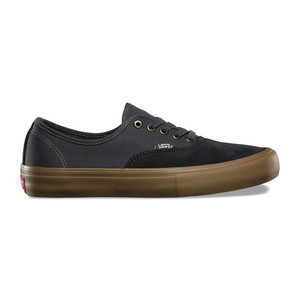 Vans Authentic Pro Skate Shoe - Asphalt/Gum
