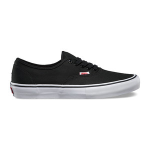 Vans Authentic Pro Skate Shoe - Black/White