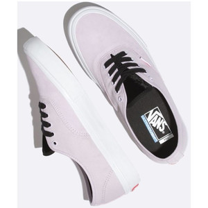 Vans Authentic Pro Velvet Women's Skate Shoe - Lavender