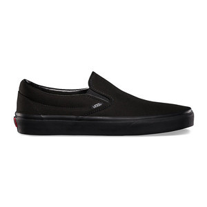 Vans Classic Slip-On Skate Shoe - Black/Black