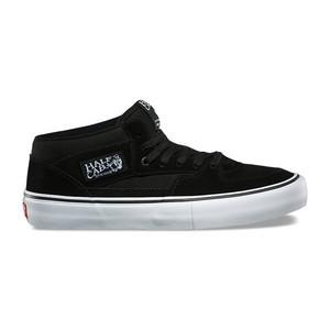 Vans Half Cab Pro Skate Shoe - Black/Black/White