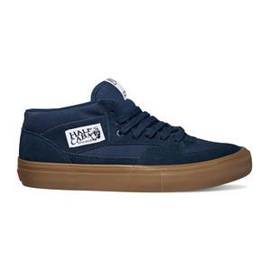 Vans Half Cab Pro Skate Shoe - Navy/Gum