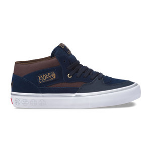 Vans Half Cab Pro Skate Shoe - Dress Blues/Demitasse