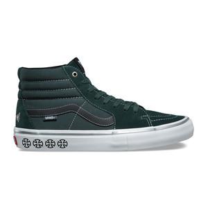 Vans x Independent Sk8 Hi Pro Skate Shoe - Spruce Green