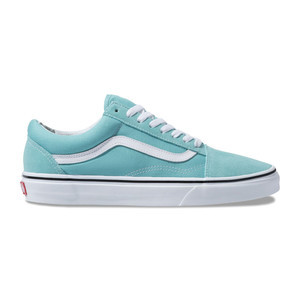 Vans Old Skool Women's Skate Shoe - Aqua Haze/True White