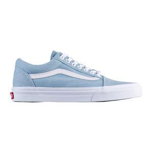 Vans Old Skool Women s Skate Shoe - Denim   Baby Blue  fc5bb219d