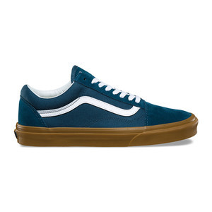 Vans Old Skool Skate Shoe - Reflecting Pond / Gum