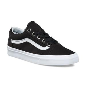 Vans Oversized Lace Old Skool Women's Shoe - Black/True White