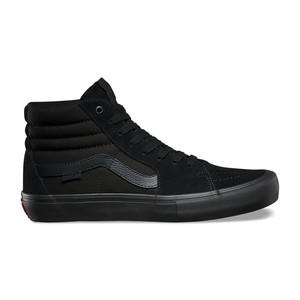 Vans Sk8 Hi Pro Skate Shoe - Blackout