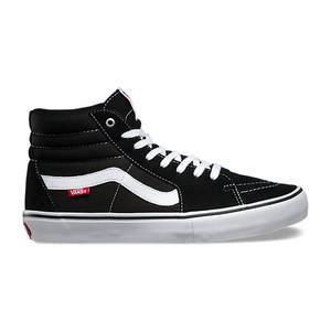 Vans Sk8 Hi Pro Skateboard Shoe - Black/White