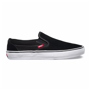 Vans Slip-On Pro Skate Shoe - Black/White/Gum