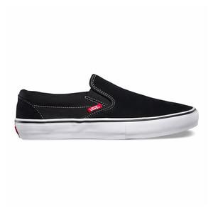 Vans Slip-On Pro Skate Shoe - Black/White/Gum