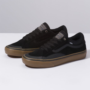 Vans TNT Advanced Prototype Skate Shoe - Black/Gum
